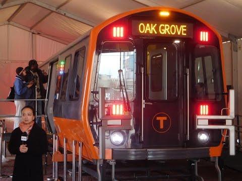 MBTA Orange Line Mock Up Model (4/3/2017)