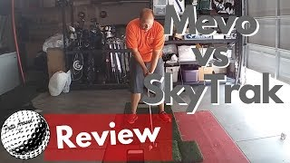 FlightScope Mevo vs Skytrak - Launch Monitor Comparison