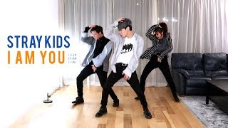 Stray Kids - 'I am YOU' Dance Cover (Collab with JUN) | Ellen and Brian
