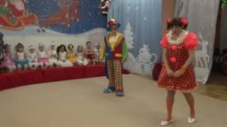 Новогодний утренник в детском саду Цирковое представление Парад Алле
