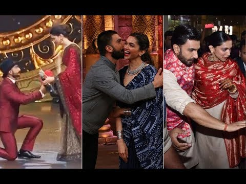 7 Times Ranveer Singh And Deepika Padukone Gave Us Those Perfect PDA Lessons