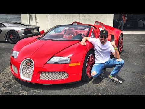 BUYING A NEW CAR: BUGATTI VEYRON!!!