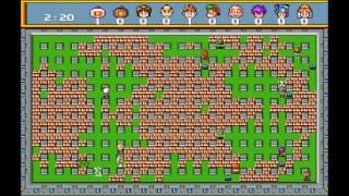 Saturn Bomberman - 10 player battle mode