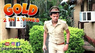 Gold | Round2hell | R2h | 2 IN 1 VINES |
