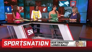 Should Lakers have drafted Jayson Tatum over Lonzo Ball? | SportsNation | ESPN