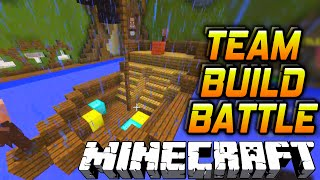 Minecraft TEAM BUILD BATTLE #2 with Vikkstar & Nadeshot