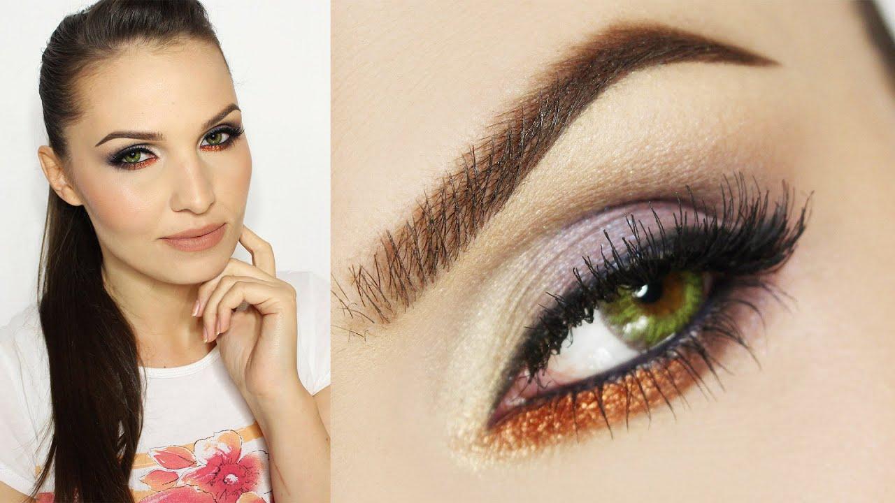 Makijaż Dla Zielonych Oczu Youtube