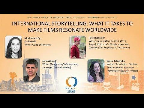 Writer's Guild of America Presents  International Storytelling