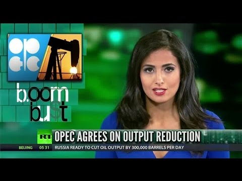 [730] OPEC agrees to 1.2 million barrel production cut