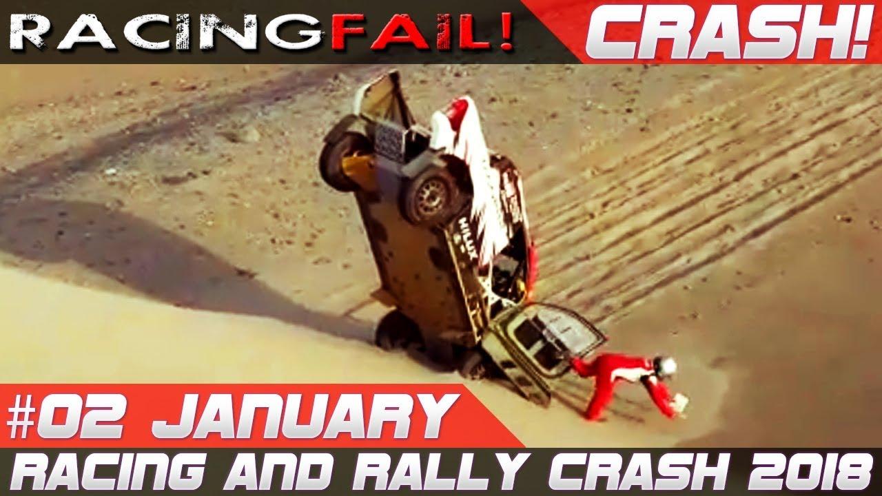Dakar 2018 Special Week 2 Rally Crash Compilation Racingfail