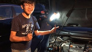 How To Remove Serpentine Belt On 2003-2007 Honda Accord | Auto Repair Guide By Young Mechanic Aiman