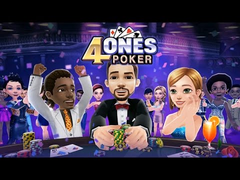 4ONES POKER (by Netmarble) Gameplay IOS / Android