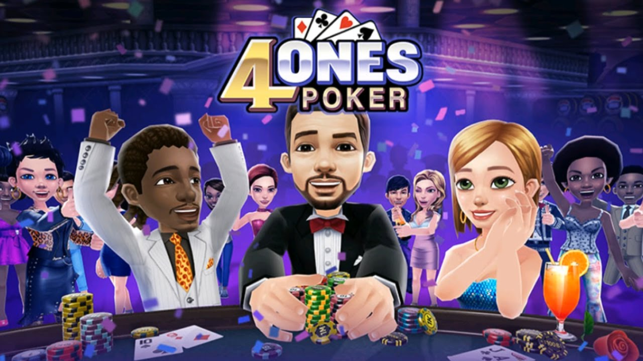 4ONES POKER (by Netmarble) Gameplay IOS / Android - YouTube