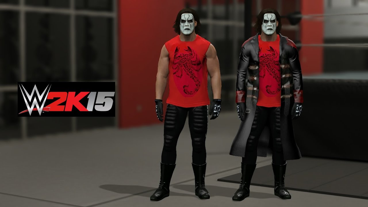 "WWE 2K15 Sting ""Scorpion WWE RAW 1/19/15"" Attire Entrance ..."