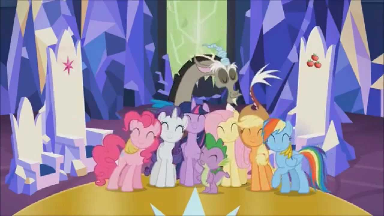 Castle Mane Ia My Little Pony Friendship Is Magic Wiki >> Better Than Ever Pmv Youtube