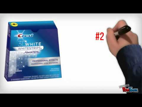 What Are The Best Teeth Whitening Products At Home - Top 5