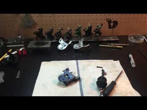 Custom Tattoo Machine Wasted Iron Machines-Vise Issues