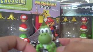 Mario and Yoshi Kart R/C Microsizers Review