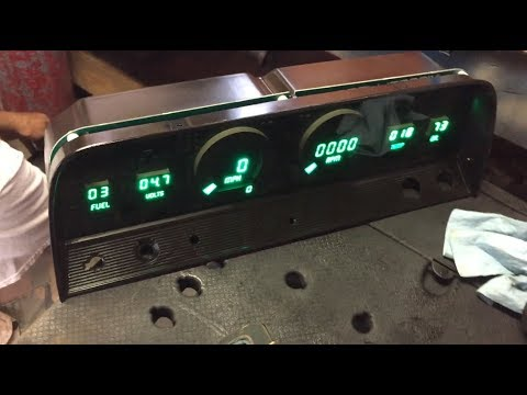 Installing Digital Gauges Into Our Classic Truck - Intellitronix Review (C10 Build - Episode 14)