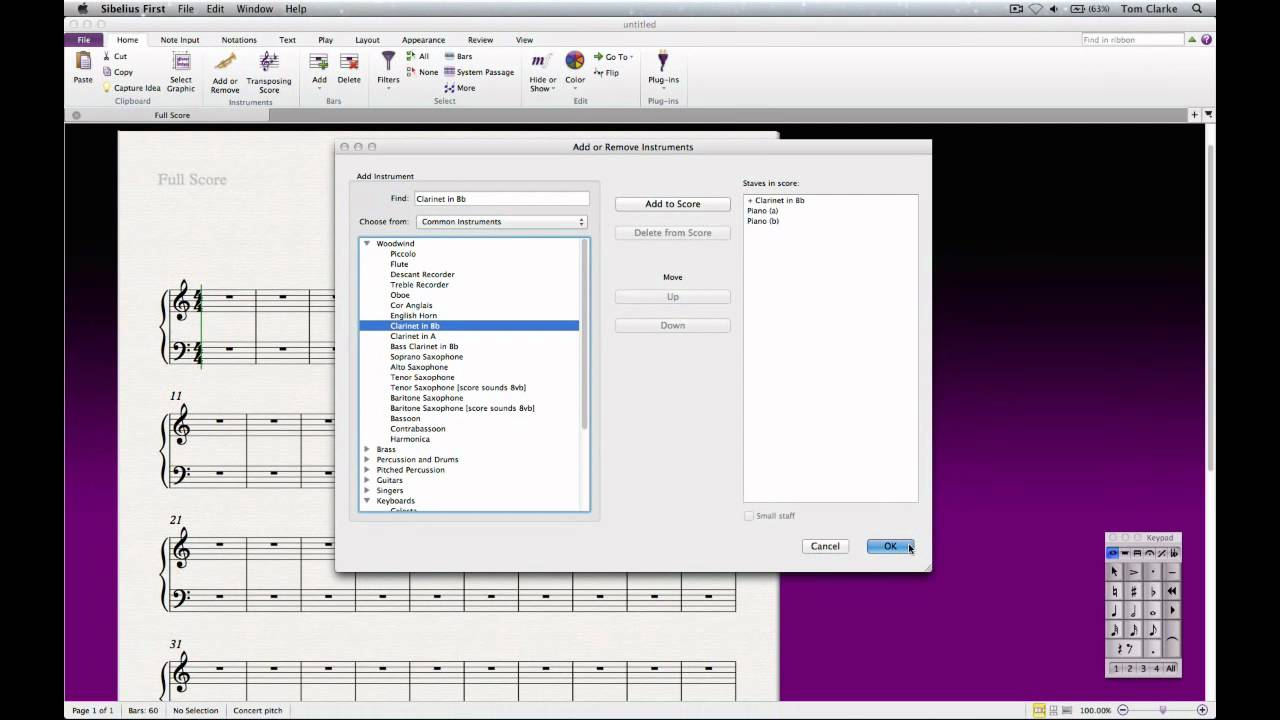 Sibelius First v7 Notation Software