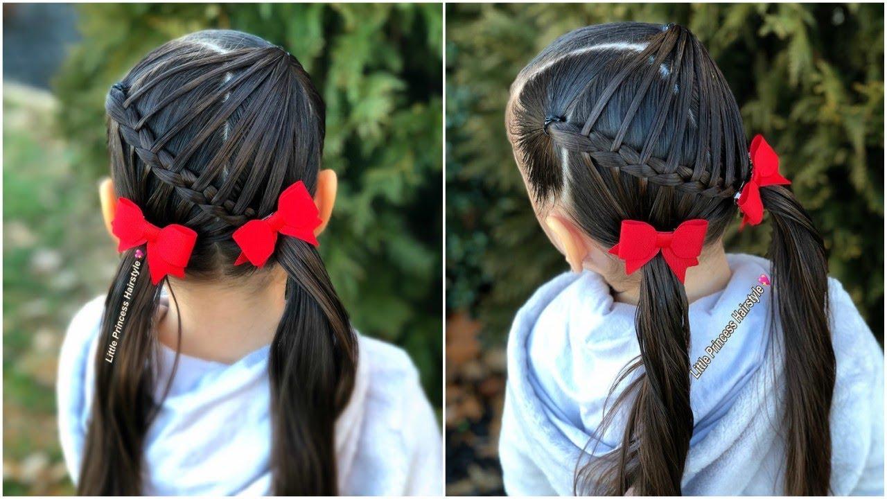 Peinado Para Niñas Fácil Y Rápido Para La Escuela Little Princess Hairstyle Youtube