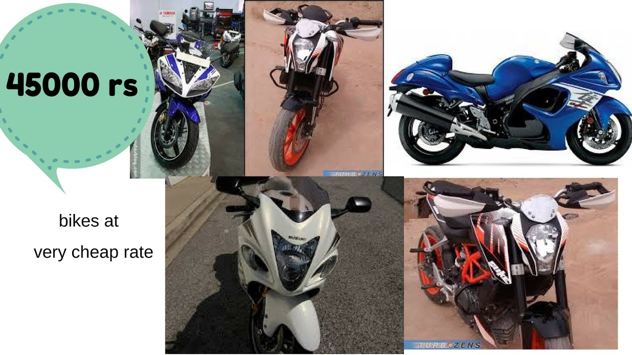 Second Hand Bike At Very Cheap Rate I Yamaha Suzuki Honda Triumph