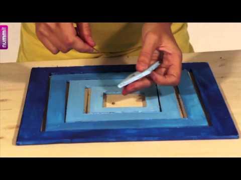 Móvil colgante en Komafoam - cartón pluma / Hanging mobile in komafoam - Foam Board