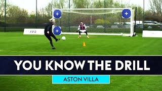 Advanced shooting challenge! | Aston Villa | You Know The FIFA Drill