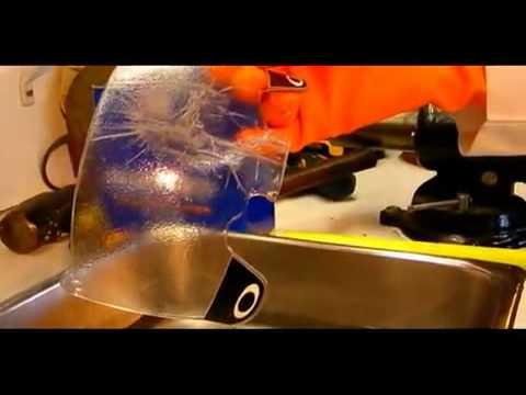 Under Armour Performance Eyewear Football Visor - YouTube 836a7c79a87