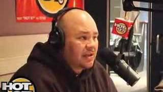 HOT 97- Angie Martinez Interviews Fat Joe