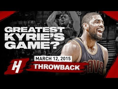 Kyrie Irving GREATEST Game EVER? EPIC 57 Points Highlights vs Spurs | March 12, 2015