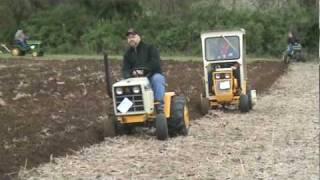cub cadet turbo diesel plowing 4