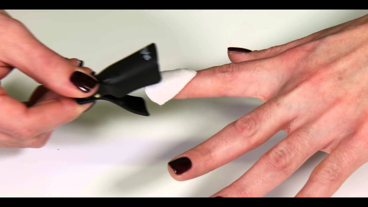 Stylfile Gel Polish Remover Clips - YouTube