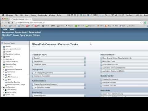 How to Create a Secure JSF/JPA Web App on Glassfish 4