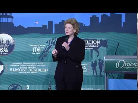 Public Servant Award Presentation: Senator Debbie Stabenow (D-MI)