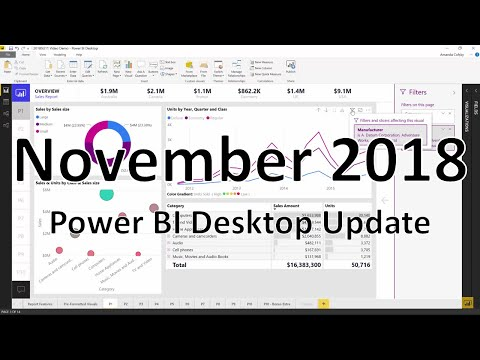 Power BI Desktop November 2018 Feature Summary | Microsoft