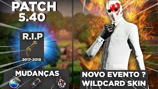 NEW SKIN WILDCARD? NEW EVENT AND VEHICLE? PATCH CHANGES 5.40 FORTNITE BATTLE ROYALE ‹ LeagueTroll ›