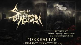STATE OF NEGATION - Derealize