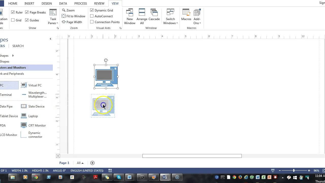 Insert visio diagram into word youtube insert visio diagram into word ccuart Images