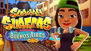SUBWAY SURFERS BUENOS AIRES ANDROID GAME PLAY #45 HD
