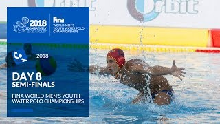 LIVE 🔴 | Water Polo - Day 8 (SF/Final) - 4th FINA World Men's Youth Water Polo Championships 2018
