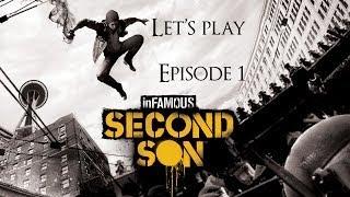Infamous second son, épisode 1, soyons de nouveau un super héros!