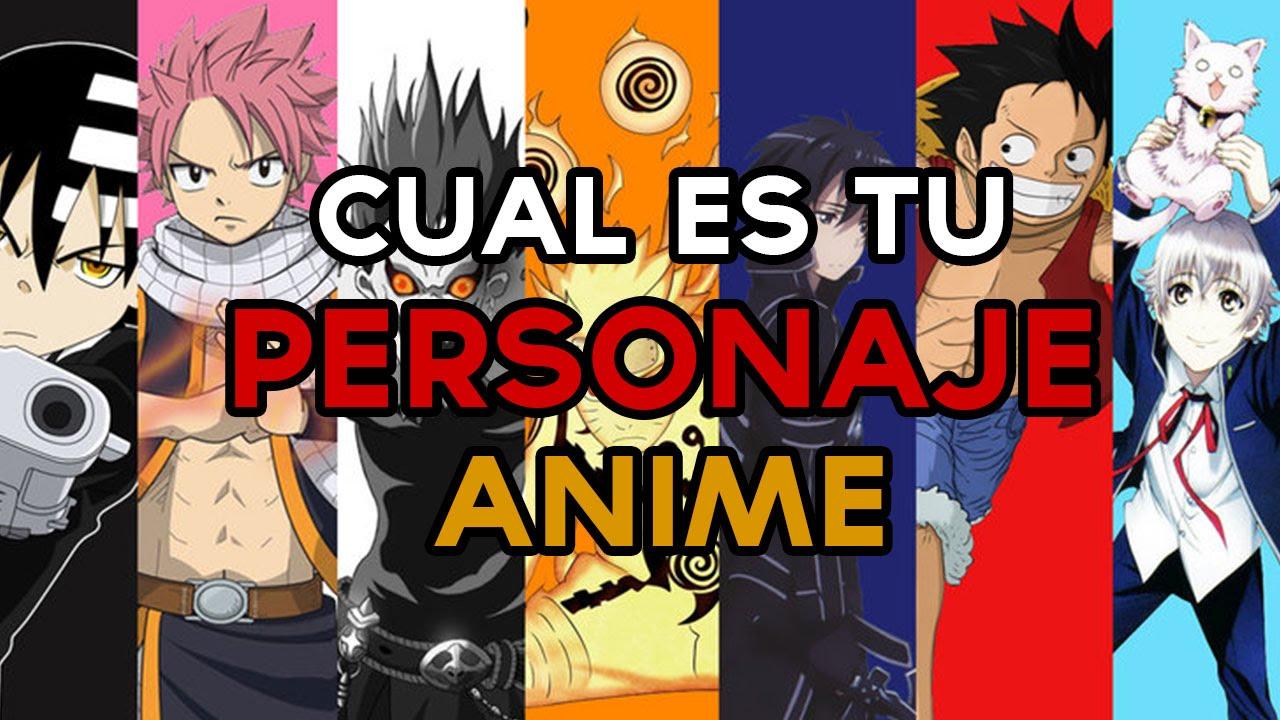 Qué Personaje De Anime Eres Test Divertidos Youtube