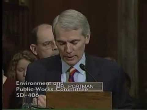 Portman Introduction of Jay Williams at Senate Environmental and Public Works Committee