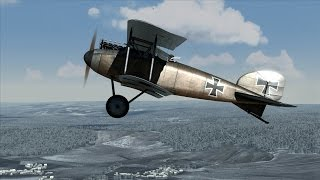 Rise of Flight: Great Duel Dogfight - Albatros D.II Vs Nieuport 11.C1