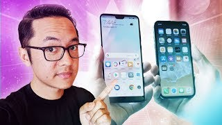Huawei P20 vs iPhone X Quick Look: Notches Galore