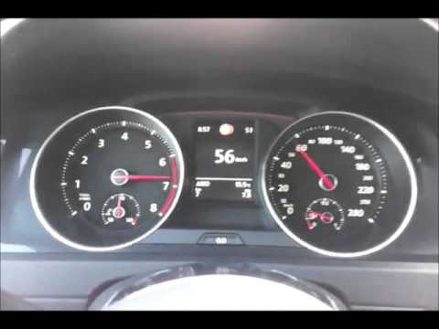 golf vii 7 gti performance 0 100 km h test 230ps dsg 2013. Black Bedroom Furniture Sets. Home Design Ideas