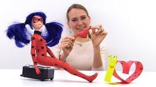 Валентинка на 14 февраля в стиле Леди Баг - Видео для девочек