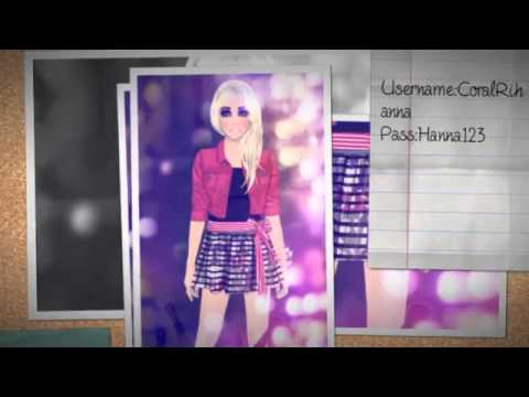 Stardoll usernames and passwords