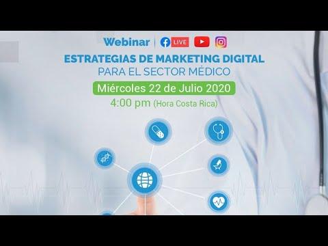 Webinar: Estrategias de marketing digital para el sector médico